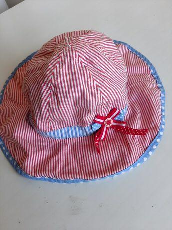 Шляпка на девочку 1-3 года кепка панамка на лето