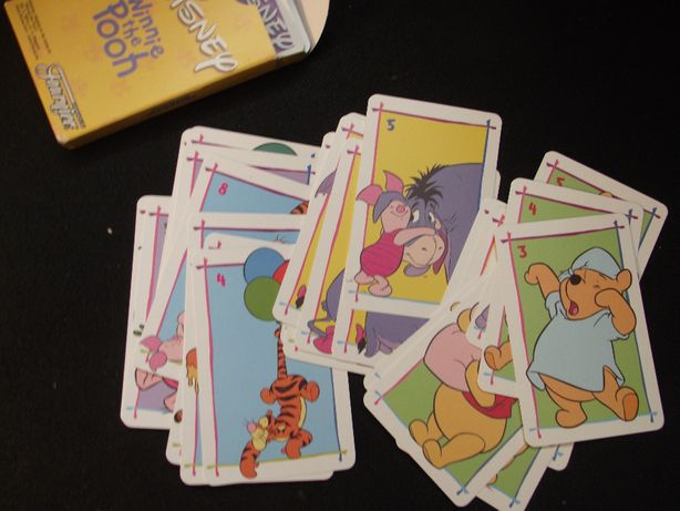 Fournier - Baralho de cartas Disney - Jogo Winnie The Pooh