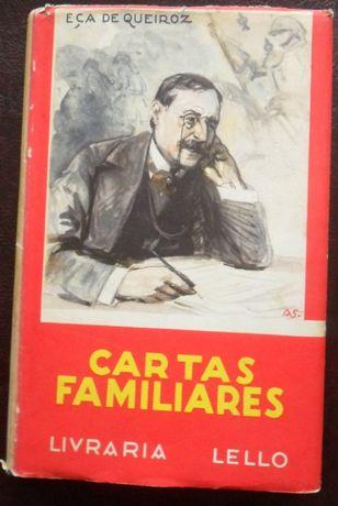 Eça de Queiroz - Cartas Familiares [6ª edição 1939] [inclui portes]