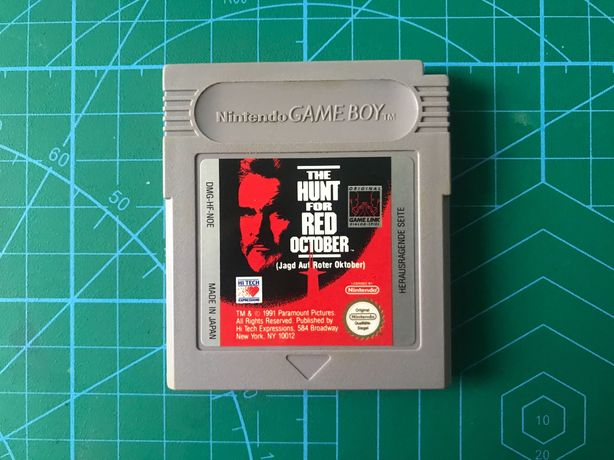 Gra The Hunt For Red October Game Boy Gameboy Classic