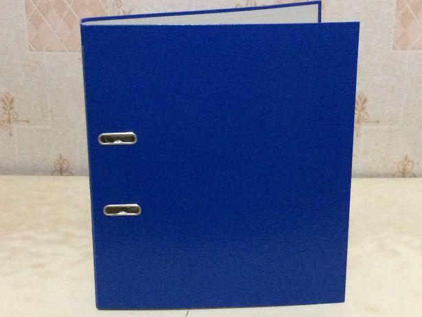 папка, бокс,твёрдая, болшая, для файлов, синяя