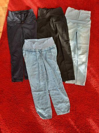 Spodnie ciążowe rozmiar S, stan bdb
