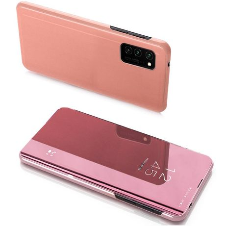 Capa Clear View Lmobile Galaxy Note 20 Ultra - Rosa