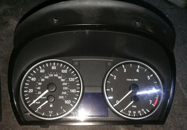 Licznik (anglik) BMW E90, E91 2.0i 150KM