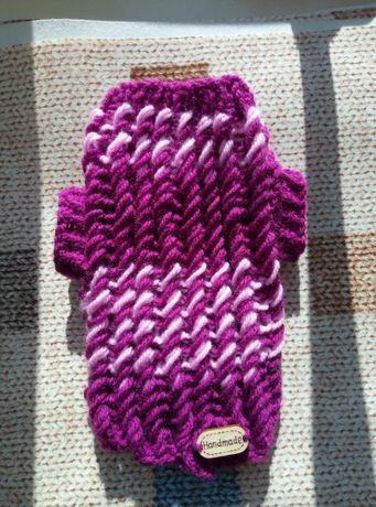 ubranko dla psa kota sweterek xxs dł 18cm/szer.23cm