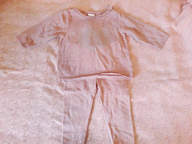 Комплект, костюм: свитшот, светр, штани, лосины H&M Gap 4-6 м, 62-68