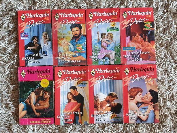 HARLEQUIN DESIRE zestaw 8 książek