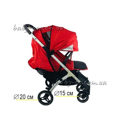 Yoya plus-4-2021.pro.2020.3.йойа плюс.детская прогулочная коляска крас