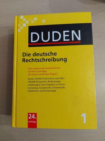 Die deutsche Rechtschreibung Duden