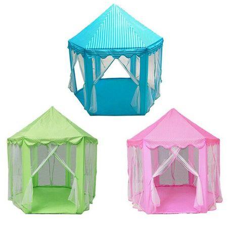 Zamek księżniczki namiot zabaw dla dzieci bajki dom zabaw - KOLORY!