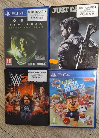 Gry na PS4 używane