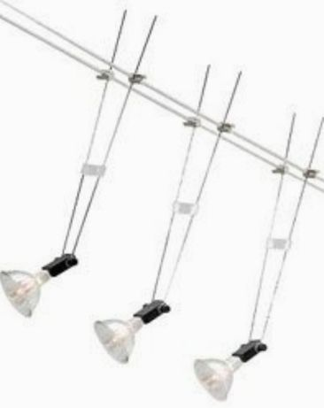 IKEA Sansa oświetlenie sufitowe, reflektorki