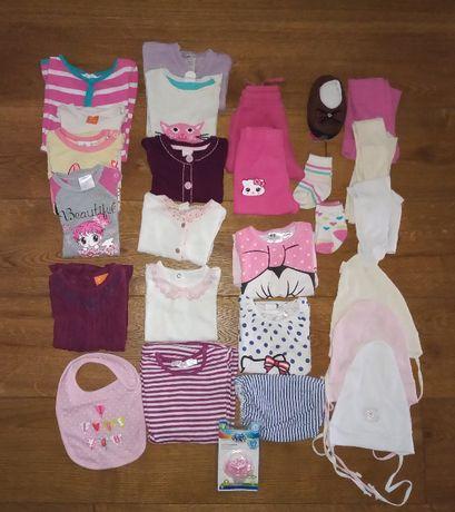 Zestaw ubrań dla dziewczynki rozm. 62-68