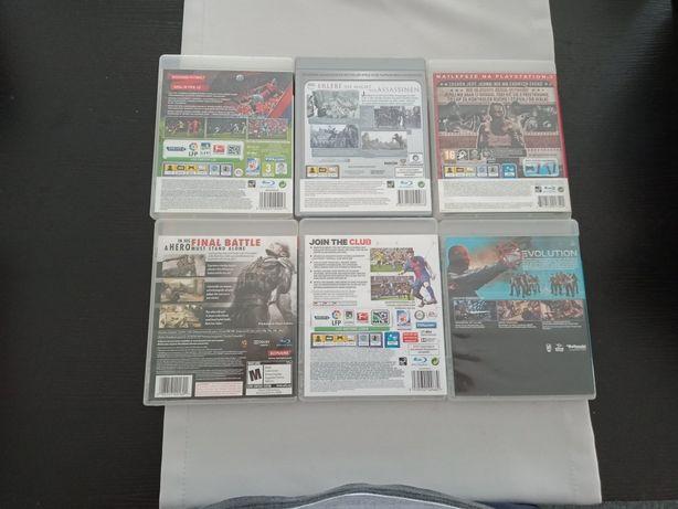 Zestaw  6 gier PS3