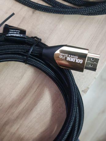 Kabel hdmi 2m goldenline