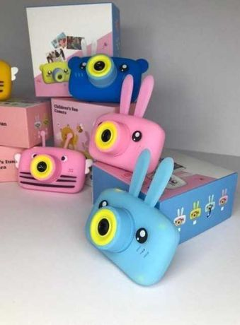 Детский Rabbit Baby фотоаппарат с автофокусом Х-500 фотокамера