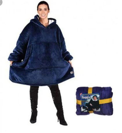 Толстовка с капюшоном Huggle Hoodie ultra plush blanket hoodie