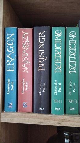 Książki Christopher Paolini Eragon