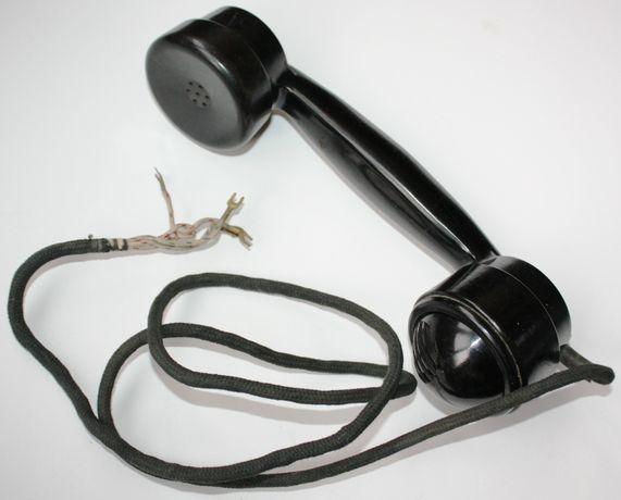 Трубки старинного телефона ВЭФ