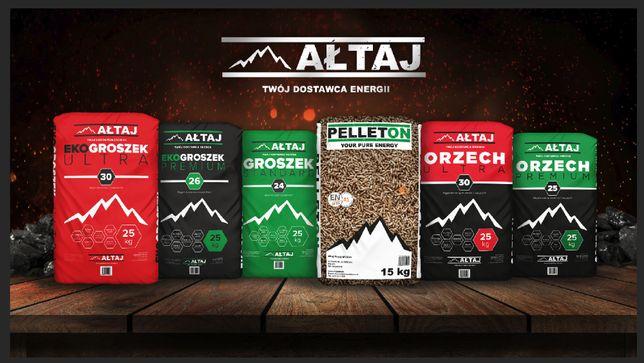 Sprzedam Pellet, Workwany ekogroszek, Węgiel luz - firma Ałtaj