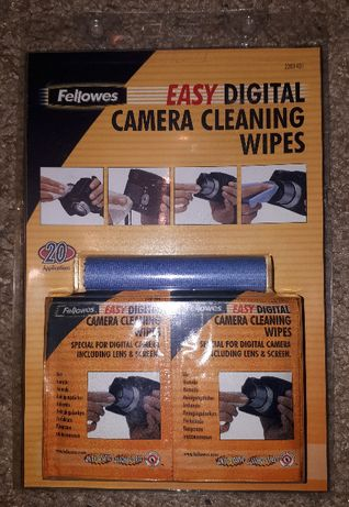 Chusteczki nasączone do czyszczenia cyfrowych aparatów fotograficznych