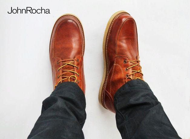 кожаные теплые ботинки John Rocha