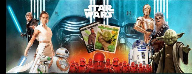 126 Kart !! Star Wars Karty Kolekcjonerskie. Nowe, Kaufland