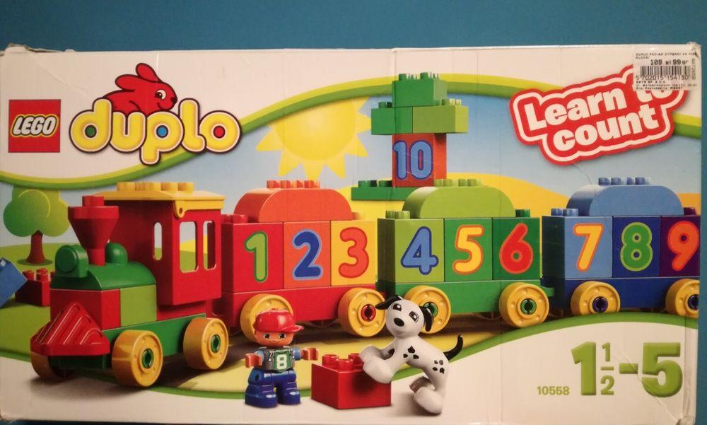 Lego duplo pociag 10558 Łódź - image 1