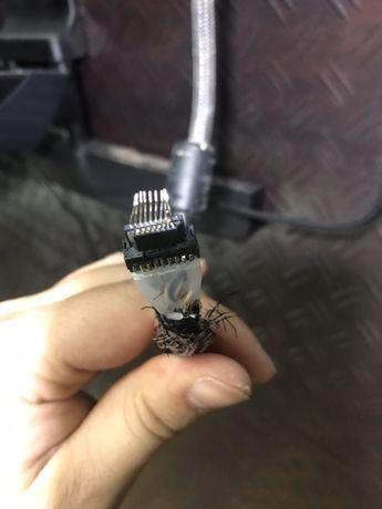 Naprawa kabla, wymina końcówki HDMI