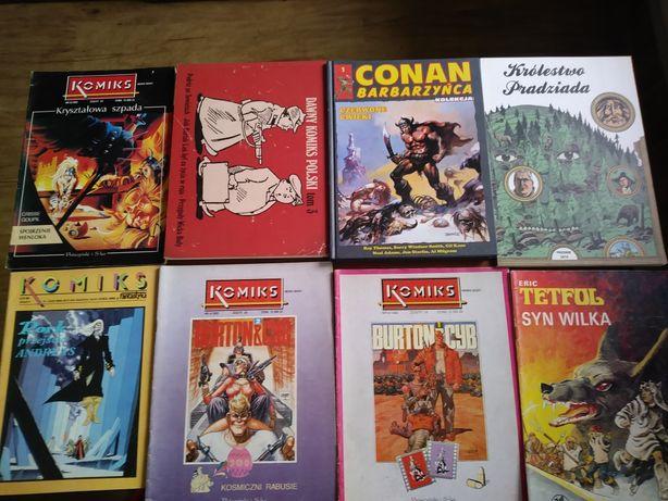Komiksy różne cena od 10 do 20 zł sztuka