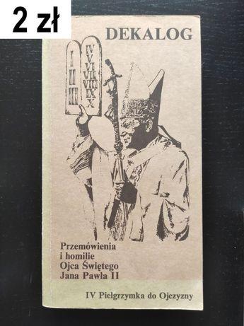 Jan Paweł II, Dekalog - przemówienia i homilie z czwartej pielgrzymki