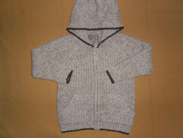 Кофта очень тёплая для мальчика 3-4 года,рост 98-104 от TU