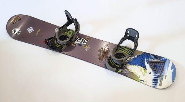 Deska snowboardowa OXYGEN z wiązaniami i butami roz. 43