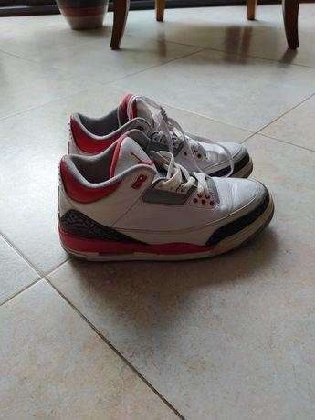 Jordan 3 fire red 2013