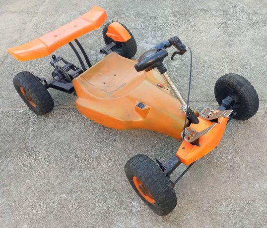 Kart antigo sem motor