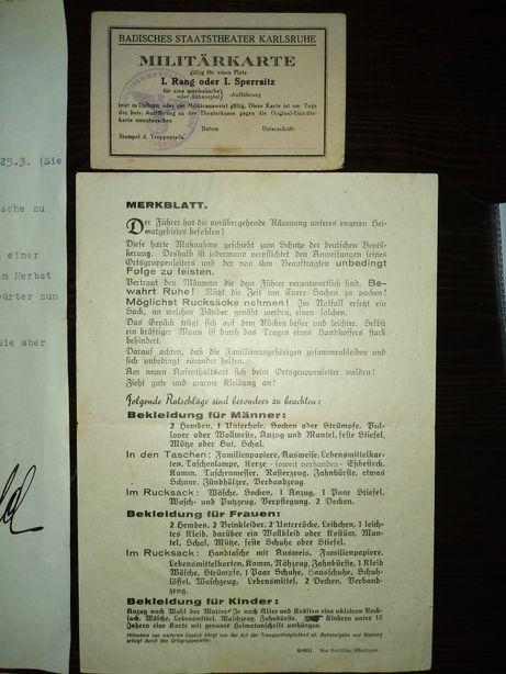 II Wojna Światowa Dokumenty 1942 rok