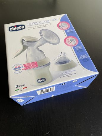 Chicco Bomba Tira leite manual NaturalFeeling