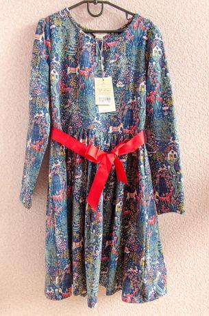 Платье с красным поясом Accessorize