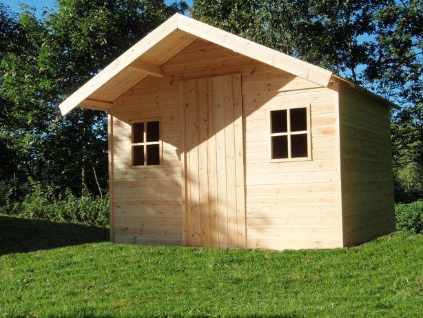 Domek drewniany narzędziowy 3m x 2,5m PROMOCJA
