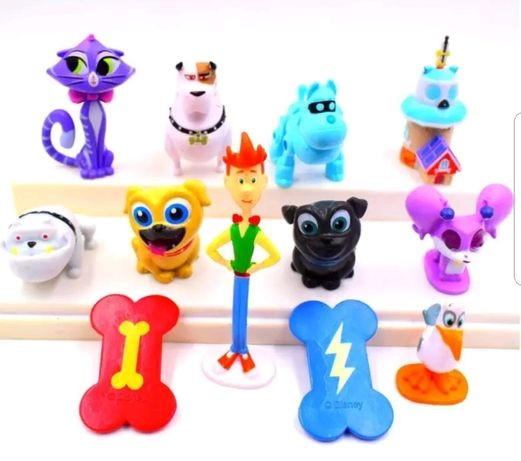 12 pcs / Bingo e Rolly Puppy Dog Pals (Portes Incluídos)