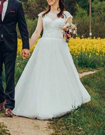 Suknia ślubna roz 36-38