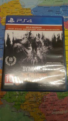 Sprzedam Dying light w edycji rozszerzonej the following PS4