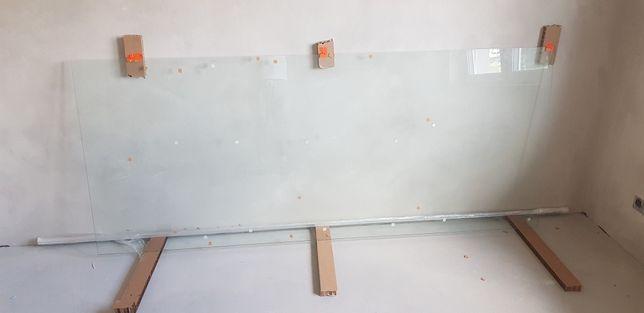 Szkło hartowane prysznicowe
