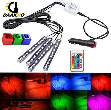 Kit LED's RGB para Viaturas + Comando