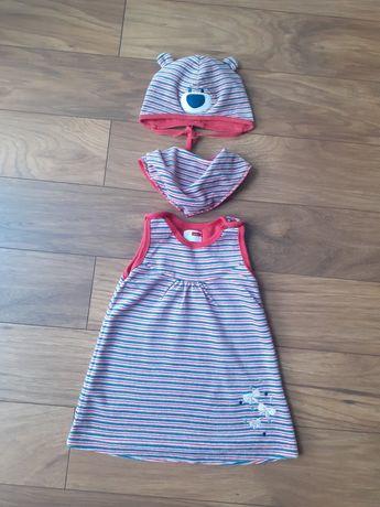 Sukieneczka welurowa 68