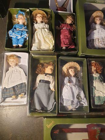 Bonecas ee coleção + acessórios victorian dolls+harrods knightsbridge