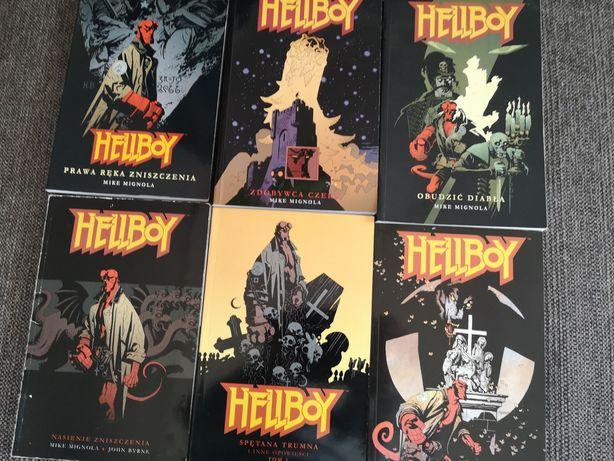 HELLBOY 6 komiksów
