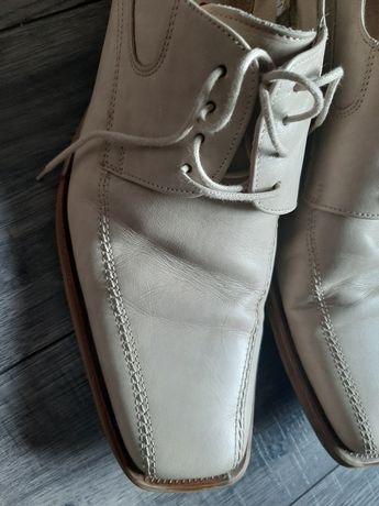 Buty skórzane męskie firmy Conhpol r.44