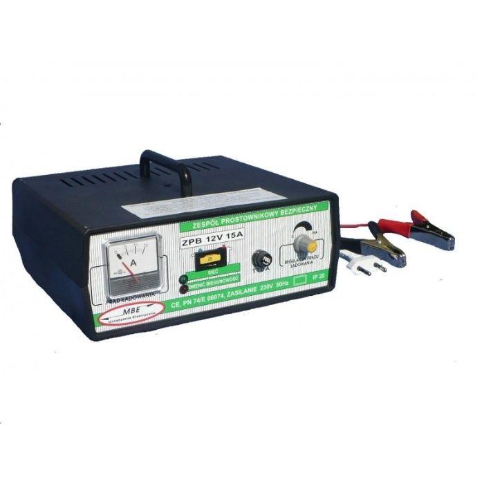 Prostownik do ładowania akumulatorów rozruchowych o napięciu 12V