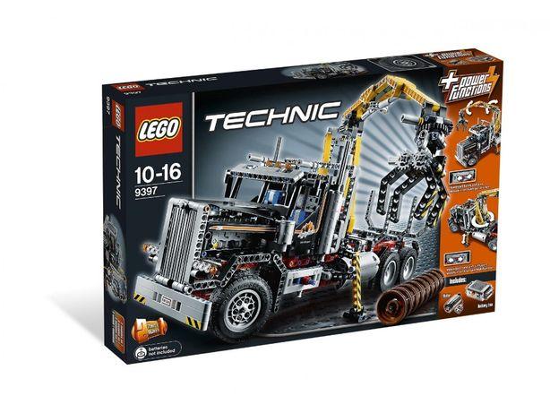 LEGO 9397 Ciężarówka do transportu drewna Stan idealny instrukcja